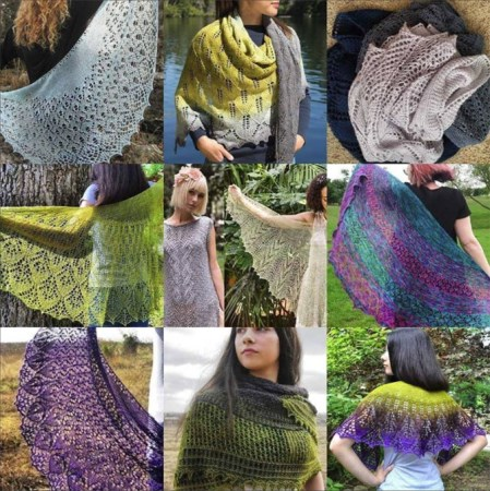2017 Best nine, photo © ArtQualia, nine of 2017 top knitting designs and patterns