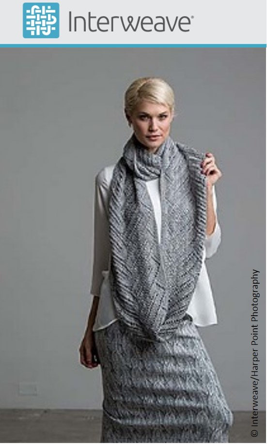 Malibu Cowl by Susanna IC, photo © Interweave/Harper Point Photography