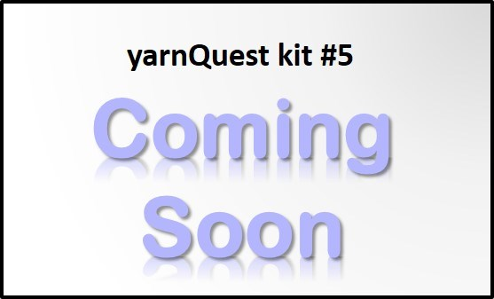 Susanna IC, yarnQuest kit#5 is coming soon