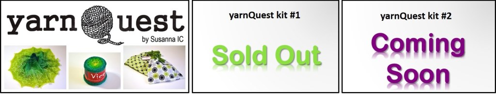 yarnQuest by Susanna IC, photo © ArtQualia, a series of exclusive knitting kits