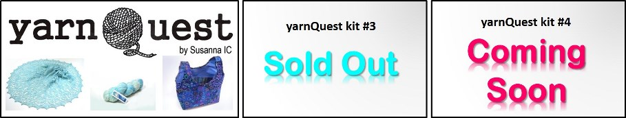 yarnQuest ki t#3 by Susanna IC, photo © ArtQualia, a series of exclusive knitting kits