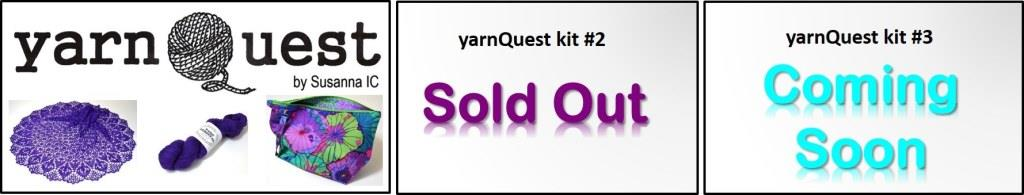yarnQuest ki t#2 by Susanna IC, photo © ArtQualia, a series of exclusive knitting kits