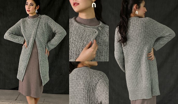 Petrichor Cardigan by Susanna IC; Photo © Interweave Knits