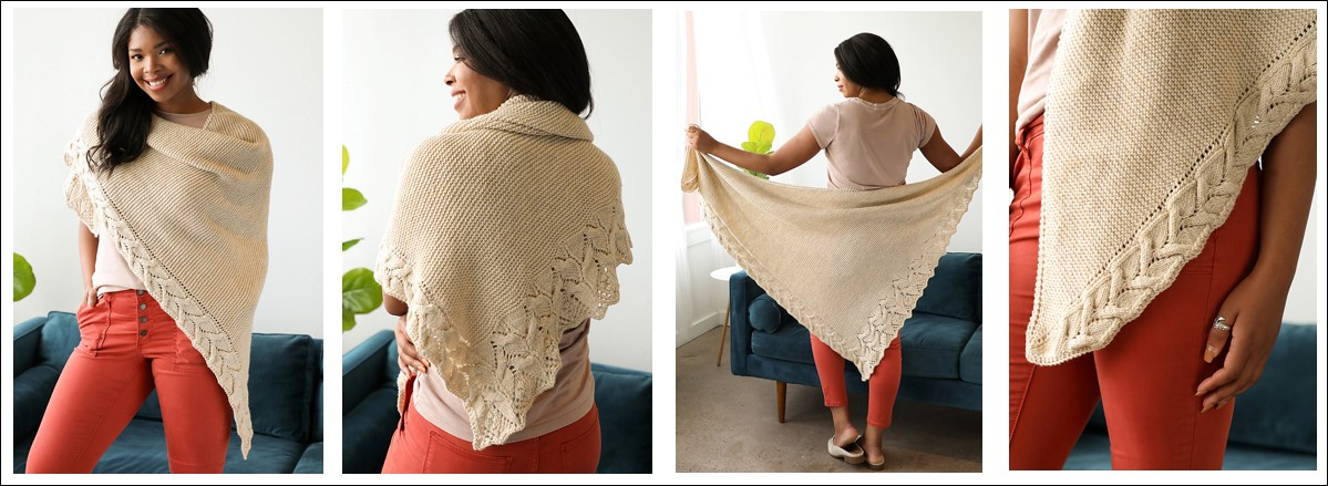 Dolomite Shawl by Susanna IC, photo © Interweave