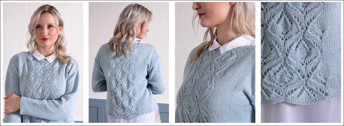 Macau Pullover by Susanna IC, photo © Interweave