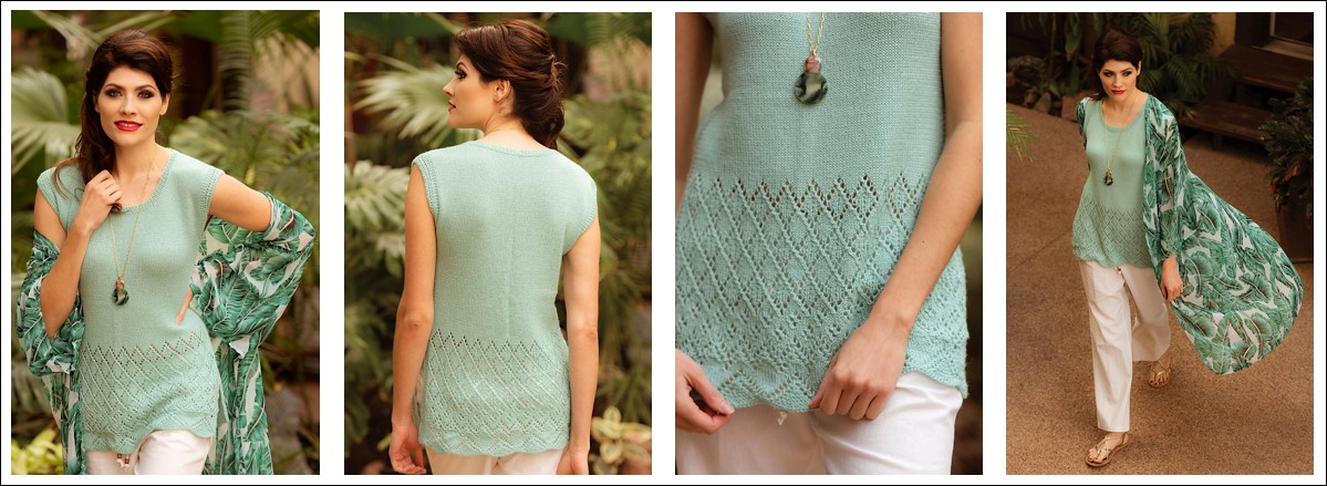 Monsoon Tee by Susanna IC, photo © Interweave