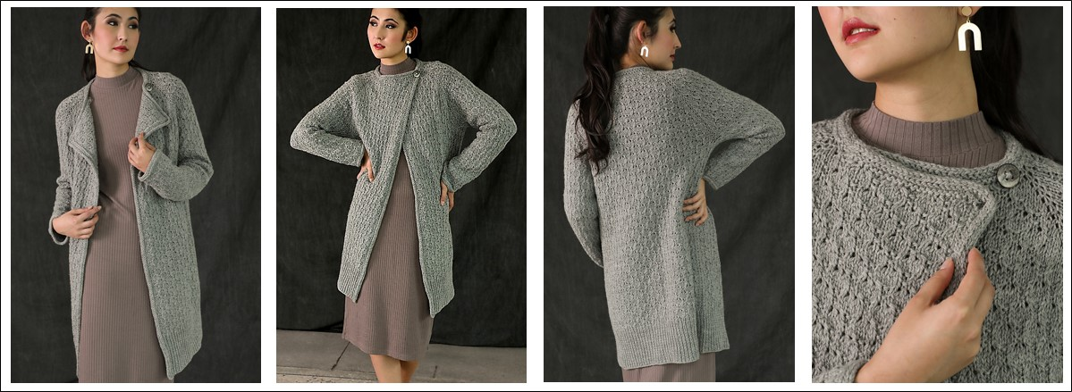Petrichor Cardigan by Susanna IC, photo © Interweave