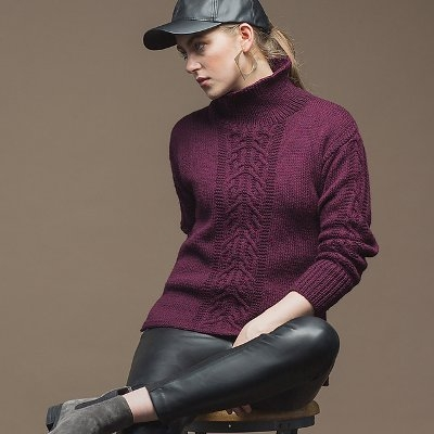 Arno Pullover by Susanna IC, photo © Interweave/Harper Point