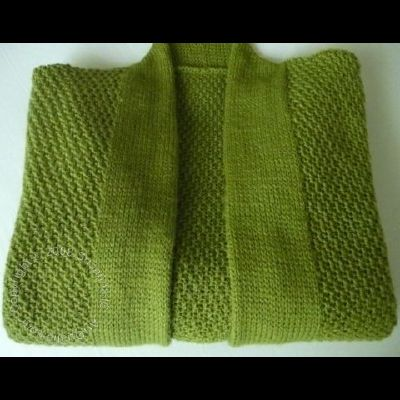 Leaf Green Cardi by Susanna IC, Photo © ArtQualia