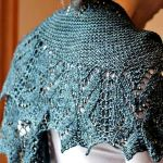 Emerantha by Susanna IC, Woolgirl Embrace the Lace Club, Photo © Woolgirl