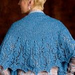 Blue Thistle Shawl by Susanna IC, Interweave Knits, Holiday Gifts 2011, Photo © Interweave Knits