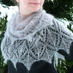 Icicles Shawl by Susanna IC