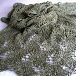 Meandering Vines Shawl by Susanna IC, Photo © ArtQualia
