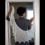 Oslo Walk Shawl by Susanna IC, Interweave Knits, Photo © Interweave Knits
