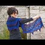 Twilight Shawl by Susanna IC, photo by © knitcircus.com